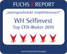 Fuchs Briefe WHSelfinvest Auszeichnung