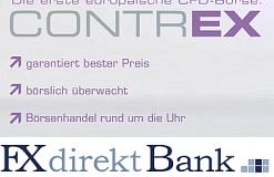 CONTREX | FX direkt Bank – Erste europäische CFD Börse mit eigener Marktordnung!?