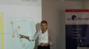 Michael Voigt und Dr. Raimund Schriek zu Gast beim diesjährigen Tag der offenen Tür bei WHSelfInvest 2011