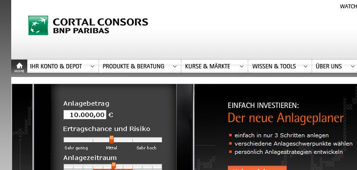 Trading demokonto cortal consors login