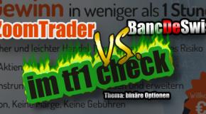 Zoomtrader mit neuem Angebot für binäre Optionen in Deutschland. Zoomtrader vs. Bancdeswiss im Vergleich.