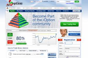 ioption webseite