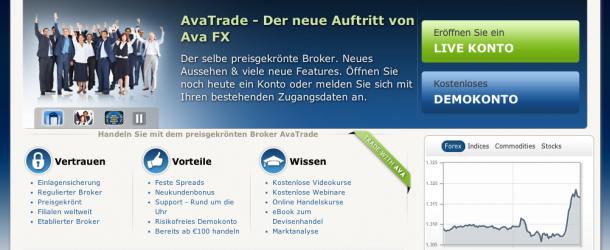AvaTrade, der neue Name von AvaFX