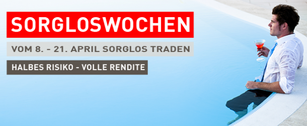 Banc de Swiss Sorgloswochen – Traden von Optionen zum halben Risiko