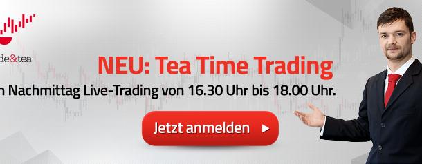 XTB.de – Tea Time Trading – Elliott-Wellen und Fibonacci Trading mit Konstantin Oldenburger