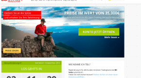 Swiss bank (BDSwiss) – Starts the Matterhorn Race Trading game with € 35,000 prize money