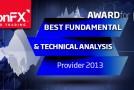 IronFX für beste fundamental und technische Forex Analyse 2013 ausgezeichnet