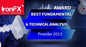 IronFX for best fundamental and technical analysis Forex 2013 excellent