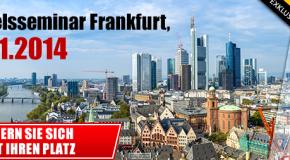 Markets.com: Free trade seminar in Frankfurt – 25.01.2014