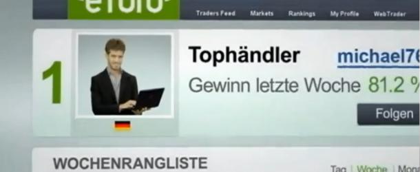 Etoro´s Social Copy Trading in der Kritik von WISO (ZDF Beitrag)