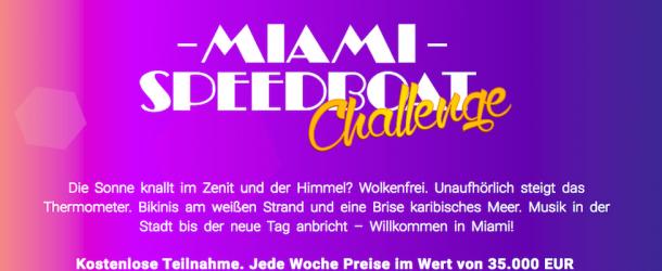BDSwiss Miami Speedboat Challenge: Das 35000€ Spiel geht in die letzte Runde