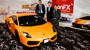 The Winner is: Hungarian Balazs – The winner of the Challenge IronFX and the Lamborghini Gallardo is clear